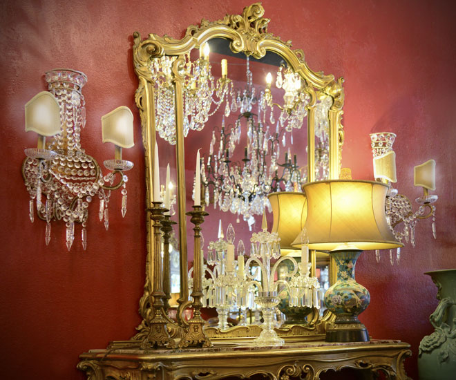 lighting - antique chandeliers
