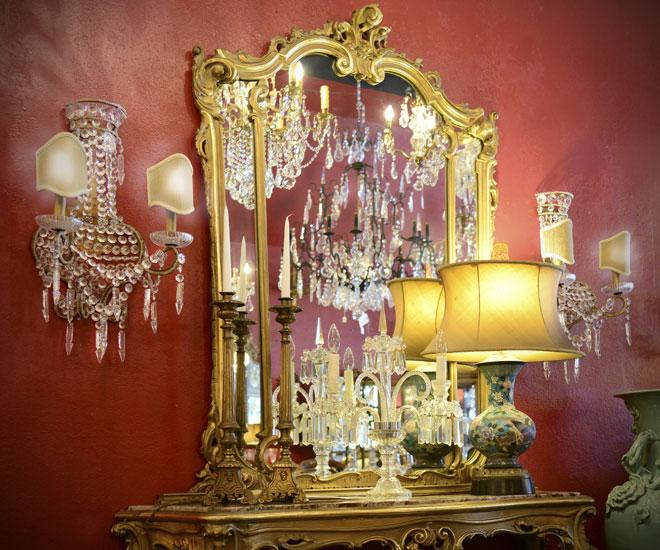 lighting - antique chandeliers
